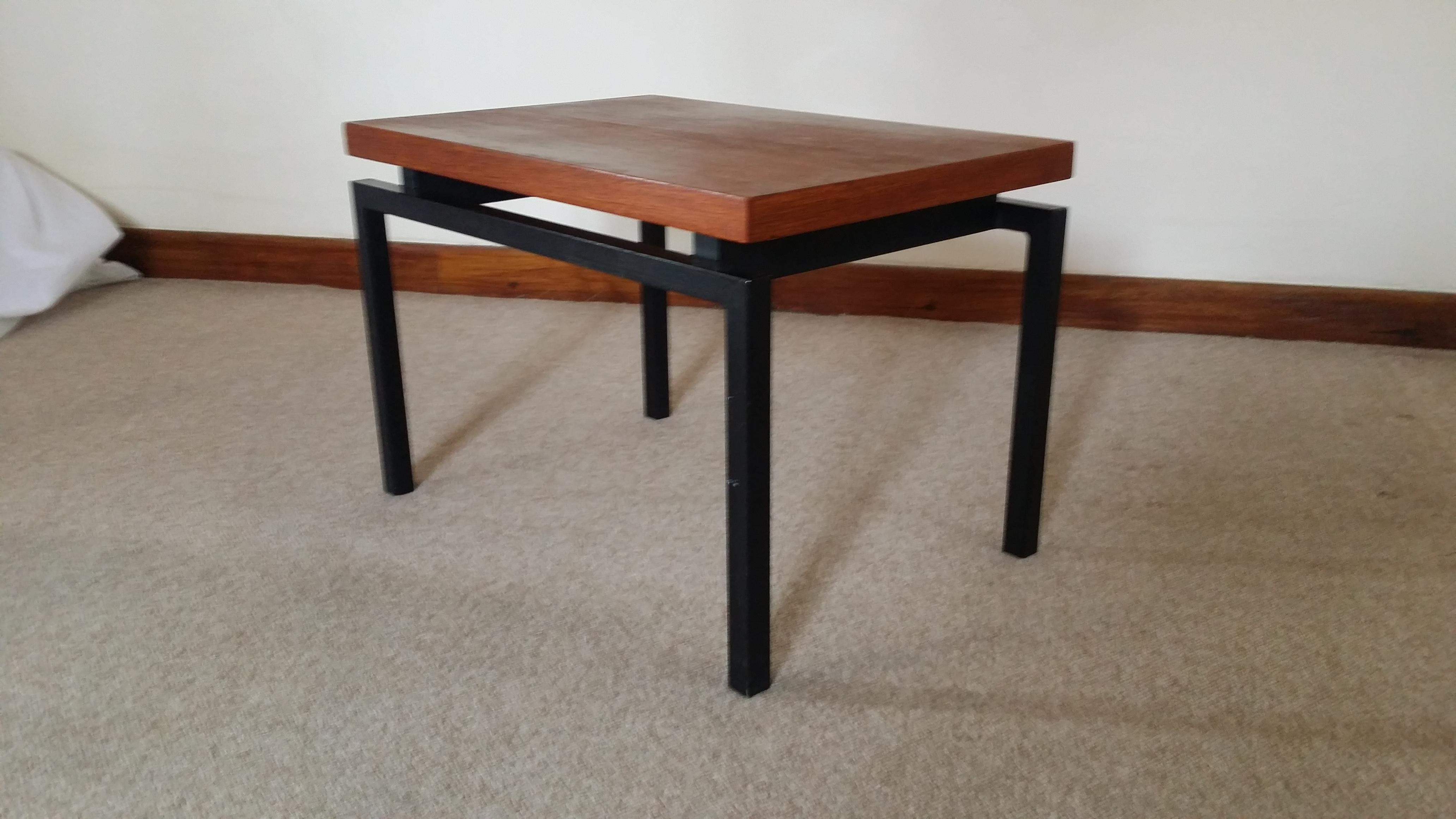 w knoll side table artichoke vintage furniture. Black Bedroom Furniture Sets. Home Design Ideas
